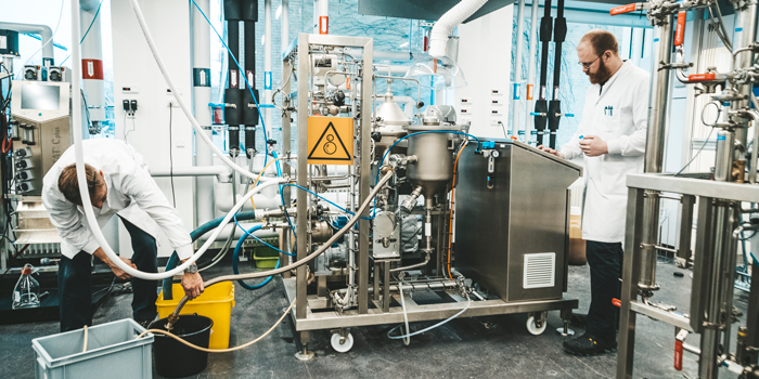 Pre-Pilot Plant at DTU Biosustain contains some of the most advanced equipment for purification and optimisation of fermentation